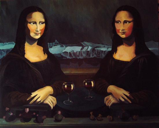 Mona Lisa voit double